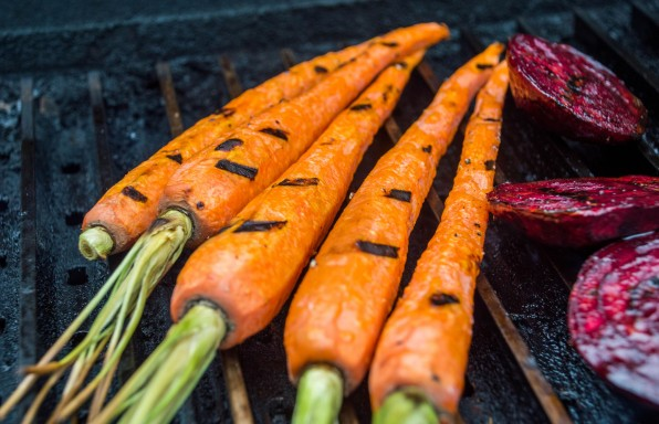 grilled carrots