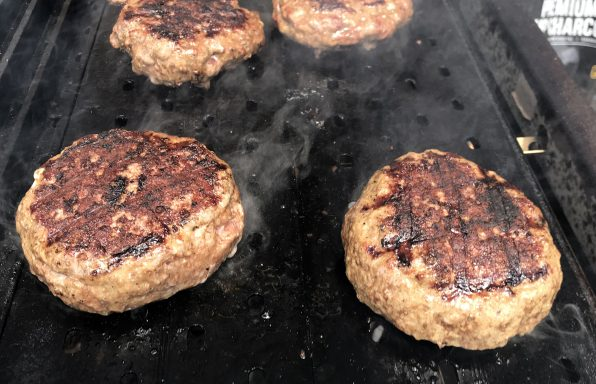 grilled and griddled burgers